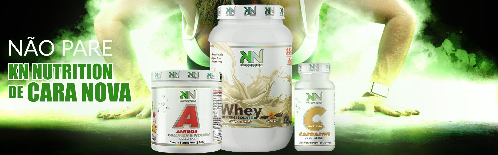 KN Nutrition - Sua loja de suplementos online!